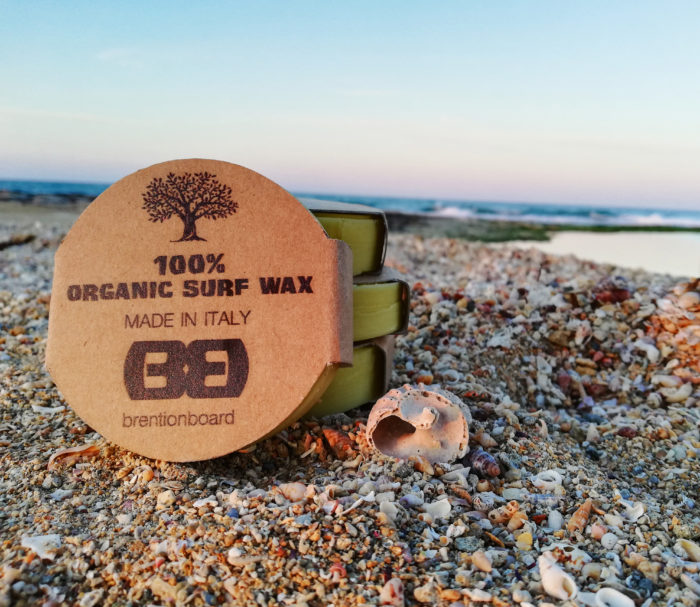 paraffina per tavola da surf organica made in italy