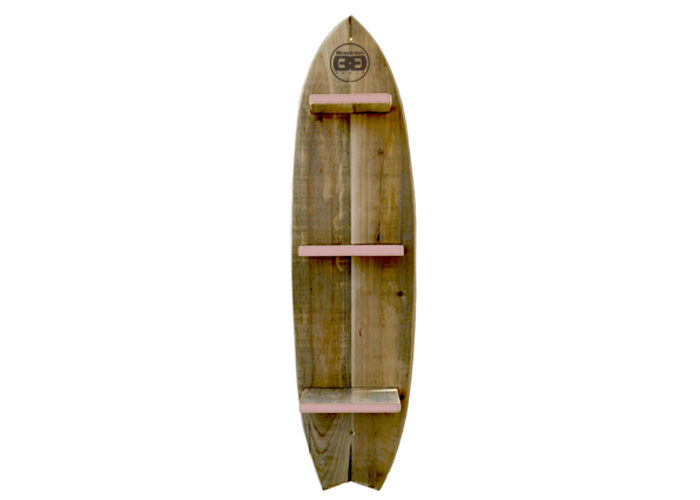 Mensola surf rosa