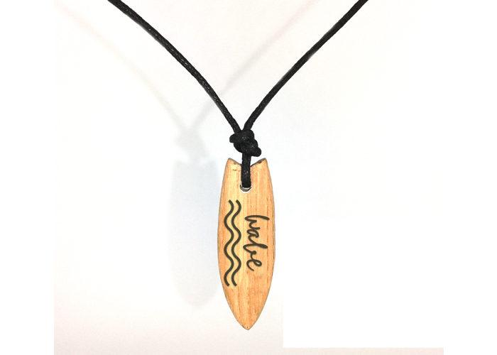 surf necklace wave