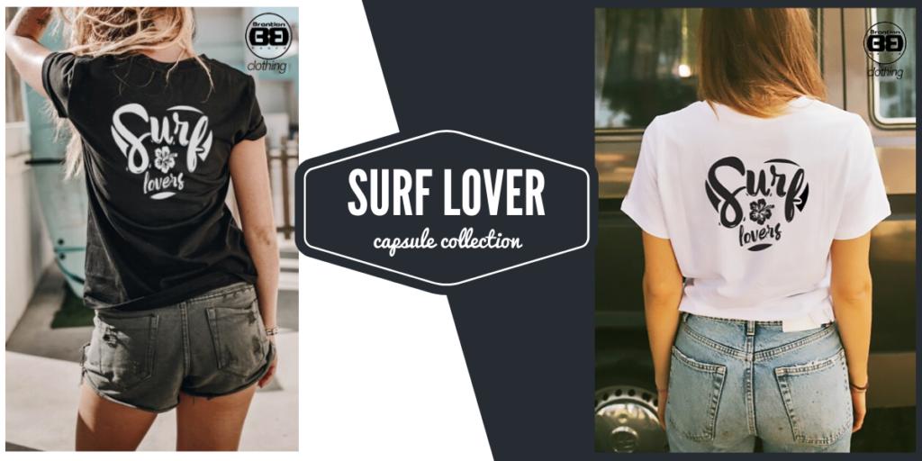 T-shirt surf lover