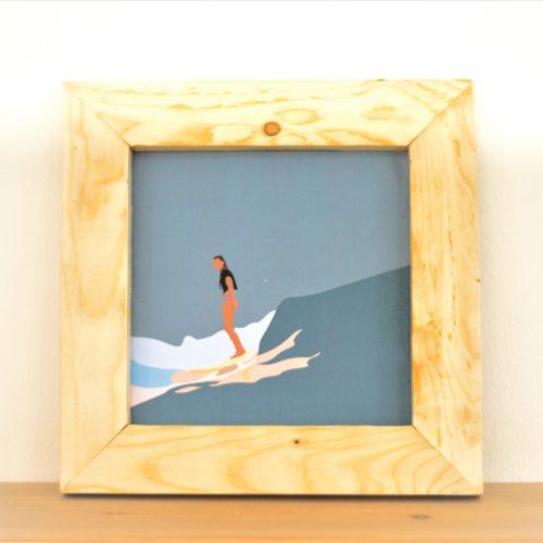 Quadro surfista