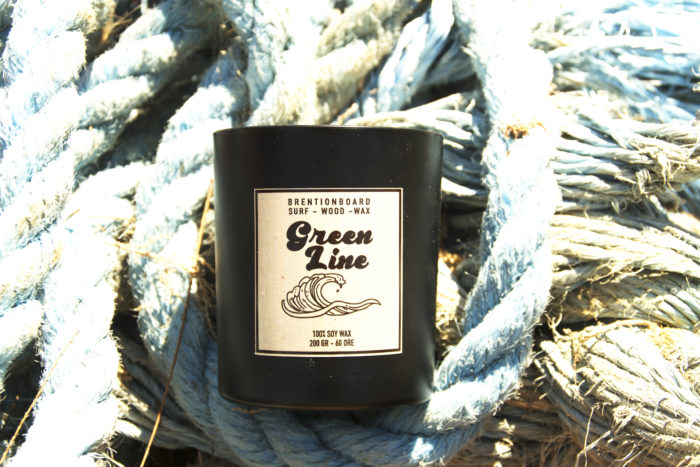 Green Line - soy candle