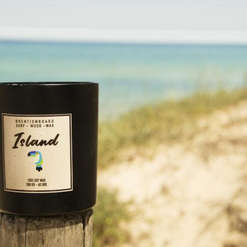 Island – Candela di soia