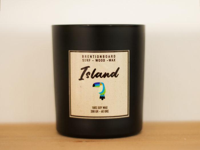 Island - soy candle